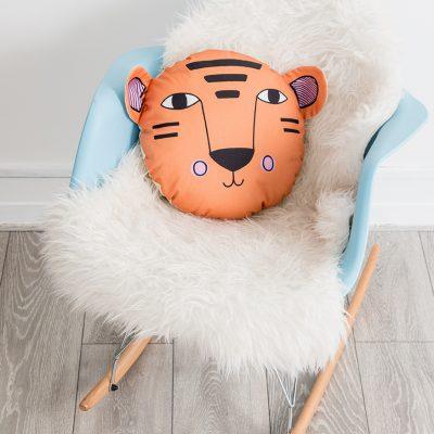 Tiger Animal Cushion