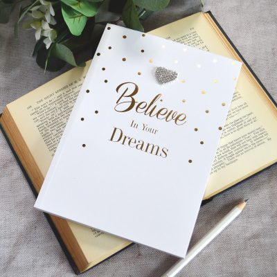 Believe In Your Dreams A5 Notebook