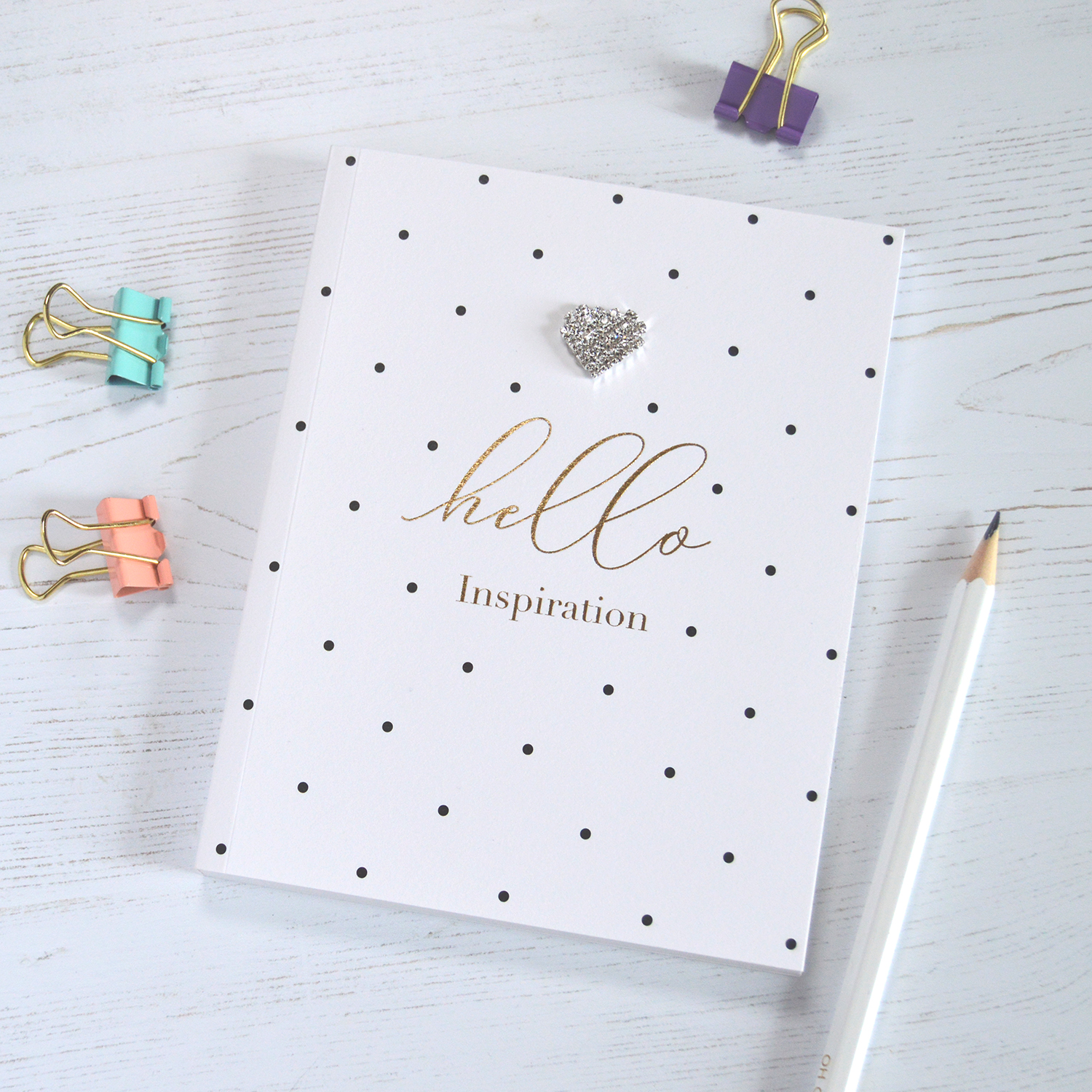 Hello Inspiration A6 Notebook