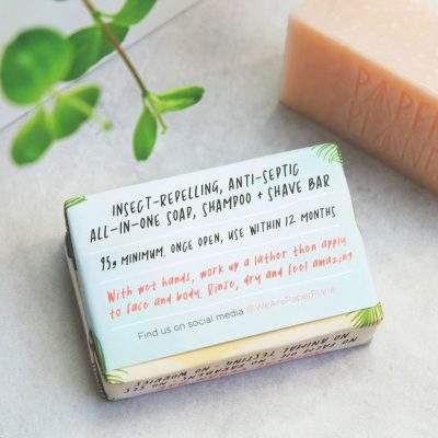 Travel Soap – Back