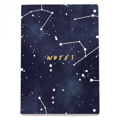 Stars Constellation A5 Notebook