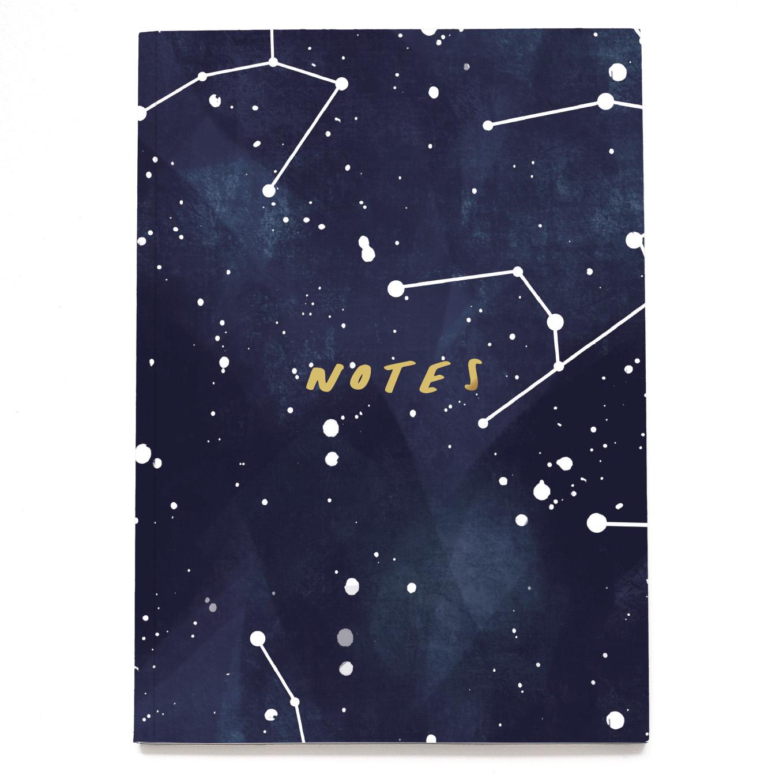 Stars Constellation A5 Notebook