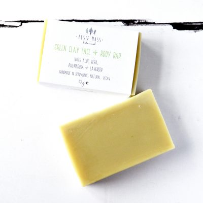 Green Clay Natural Vegan Face & Body Bar