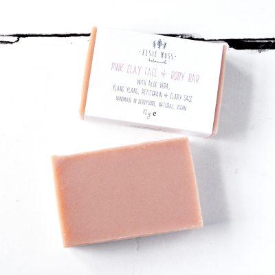 Pink Clay Natural Vegan Face & Body Bar