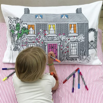 Colour & Wash Doll's House Decorator Pillowcase