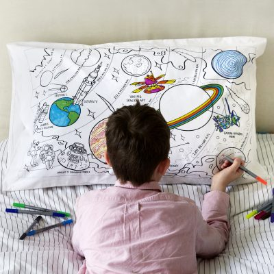 Colour & Wash Space Explorer Pillowcase
