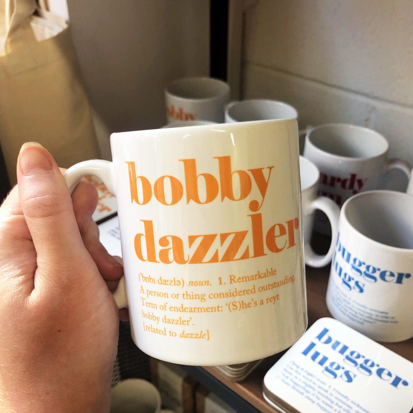 bobby dazzler mug