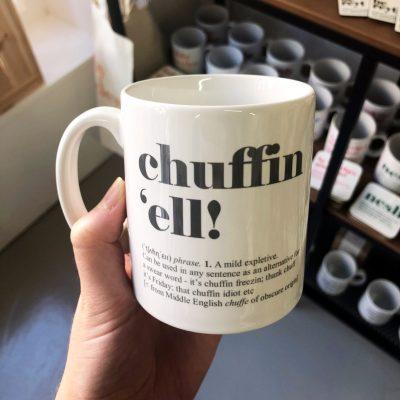 chuffin ell mug