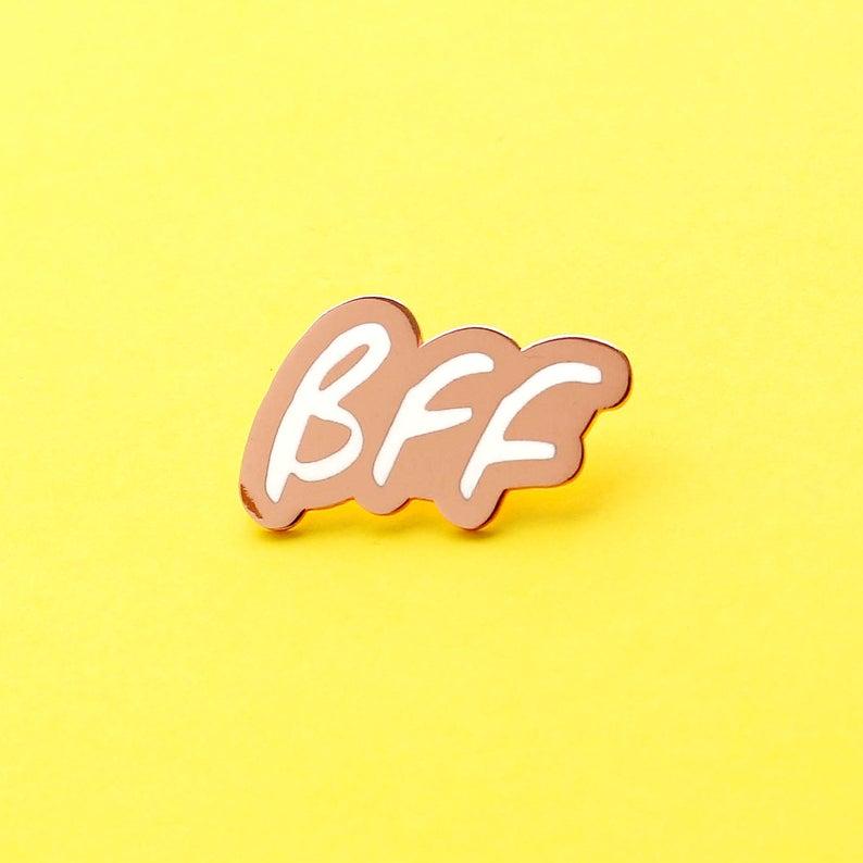 bff enamel pin