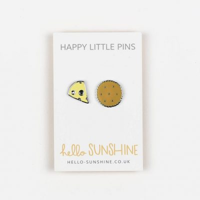 cheese and biscuit pin set