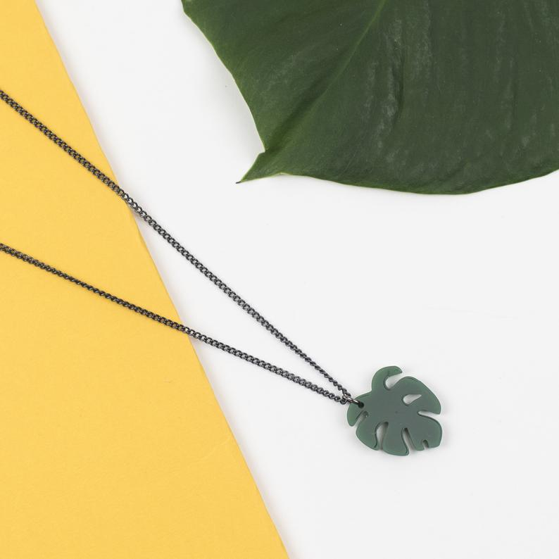 cheese plant necklace 1