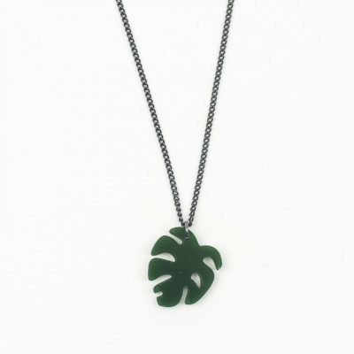 cheese plant necklace