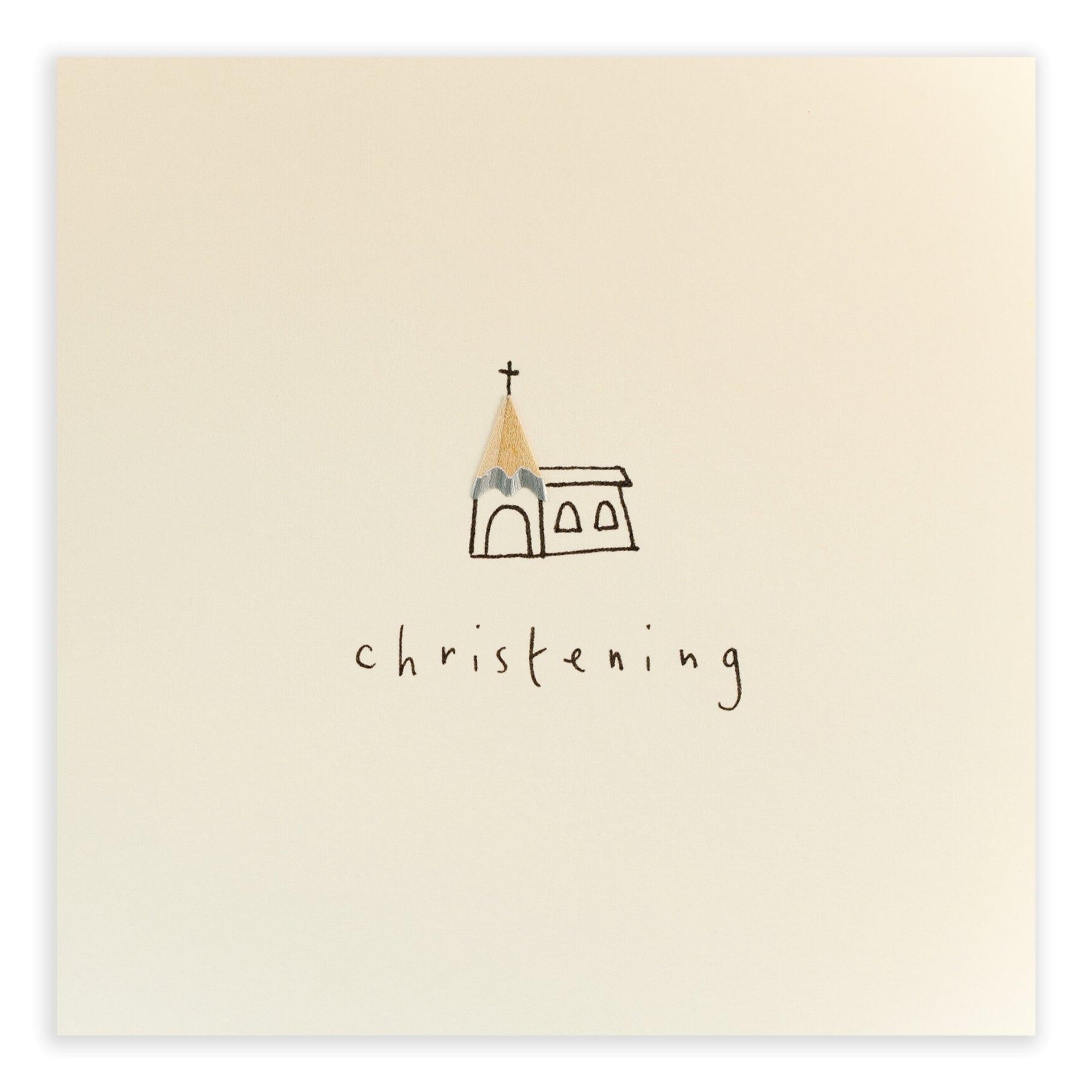 Pencil-Shavings-Cards-Christening-Church