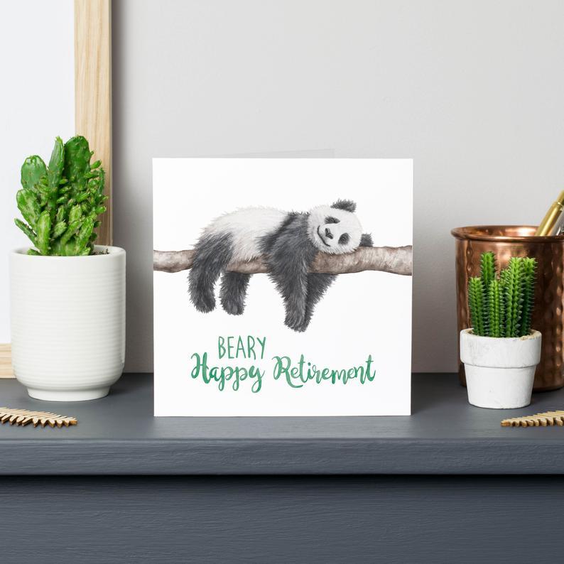 beary happy retirement