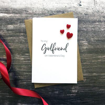 To my Girlfriend on Valentine's Day