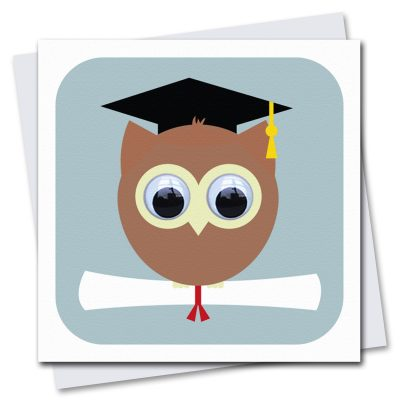 087-Wise-Owl-Graduation-Card-by-Stripey-Cats