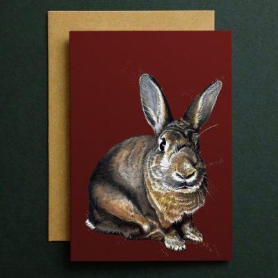 CARD_Green_Square_Meg_Rabbit_2