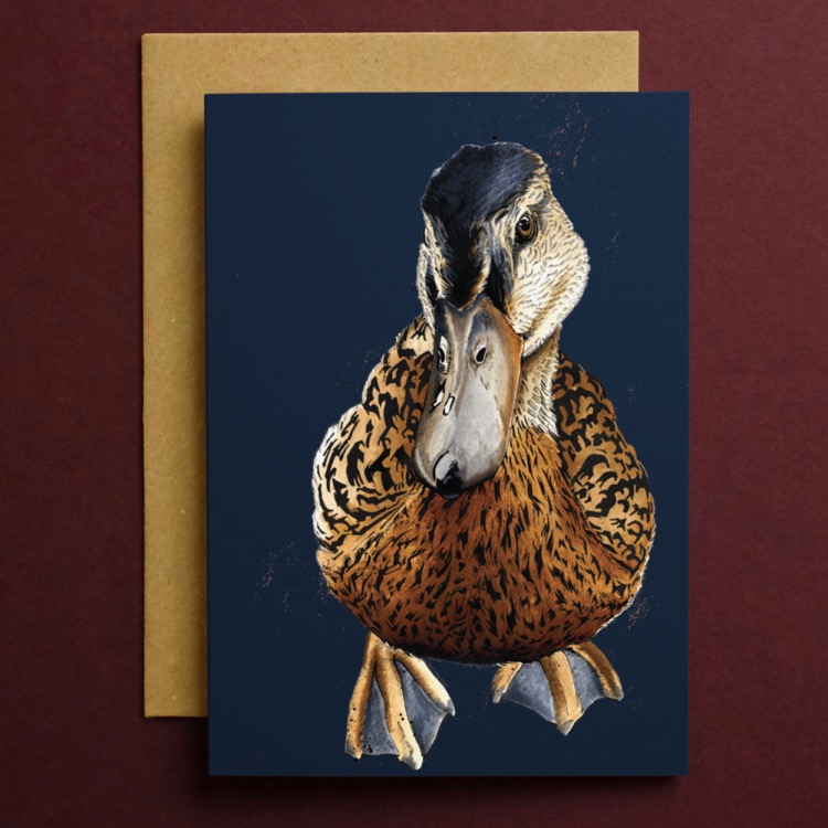 CARD_Red_Square_Duck_2