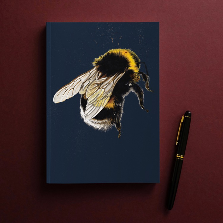 NOTEBOOK_Red_Square_Bee