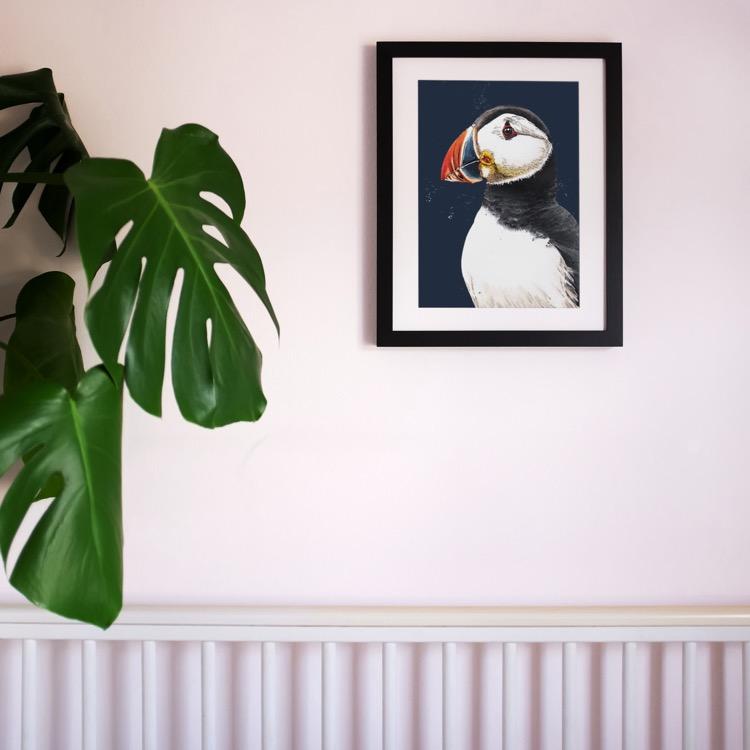 Nursery_Portrait_Print_Puffin