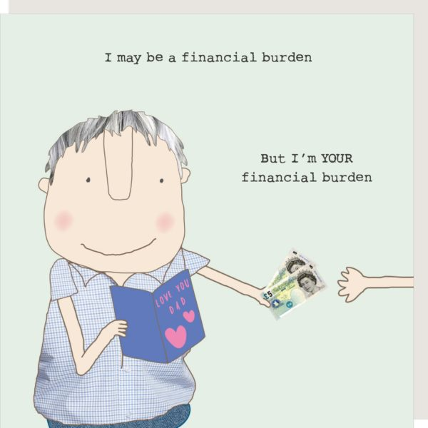 Burden Dad Card
